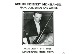 Arturo Benedetti Michelangeli - Piano Concertos And Works - (CD)