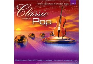 VARIOUS - Classic Meets Pop Vol.1 - (CD)