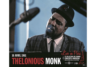 Thelonious Monk - LIVE IN PARIS 16 AVRIL 1961 (CONTIENT INEDITS) - (CD)