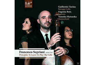 Turina, Guillermo / Boix, Eugenia / Matsuoka, Tomo - Principles To Learn To Play The Cello - (CD)