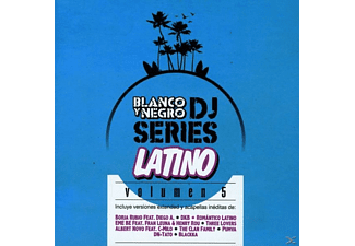 VARIOUS - Blanco Y Negro Dj Series Latino Vol.5 - (CD)