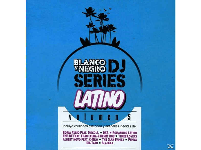VARIOUS - Blanco Y Negro Dj Series Latino Vol.5 [CD]