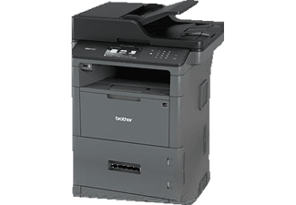 BROTHER MFC-L 5750 DW, 4-in-1 Multifunktionsdrucker, Grau/Schwarz