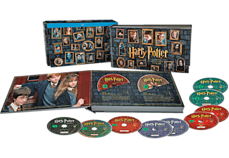 Harry Potter - The Complete Collection (Layflat Book) - Exklusiv - (Blu-ray)