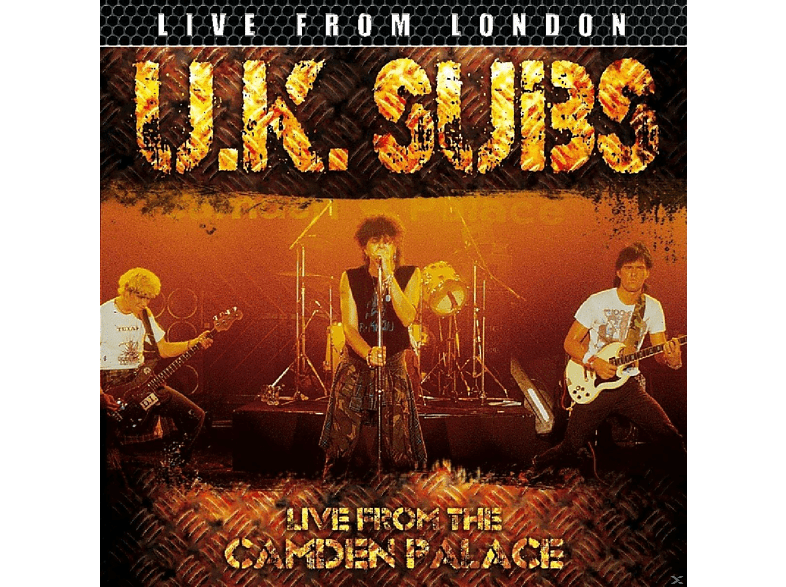 Uk Subs - Live From London [CD]