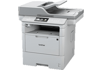 BROTHER DCP L 6600 DW, 3-in-1 Multifunktionsgerät, Weiß
