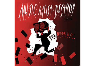 Ruts Dc - Music Must Detroy - (CD)