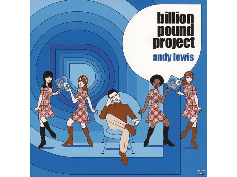 Andy Lewis - Billion Pound Project [CD]