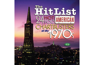VARIOUS - Hit List: 24 Hot 100 American Chartbusters Of 70's - (CD)