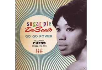 Desanto Sugar Pie - Go Go Power-Complete Chess Singles 1961-1966 - (CD)