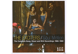 The Exciters - Soul Motion-Complete Bang, Shout And Rca Recordings - (CD)
