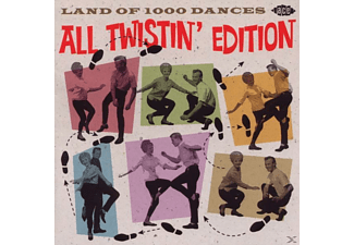 VARIOUS - Land Of 1000 Dances-All Twistin' Edition - (CD)
