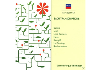 Gordon Fergus-thompson - Bach-Transkriptionen - (CD)