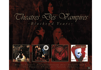 Theatres Des Vampires - Blackend Years (4CD Box) - (CD)