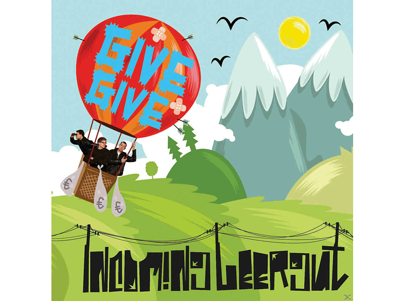Incoming Leergut - Give Give [CD]