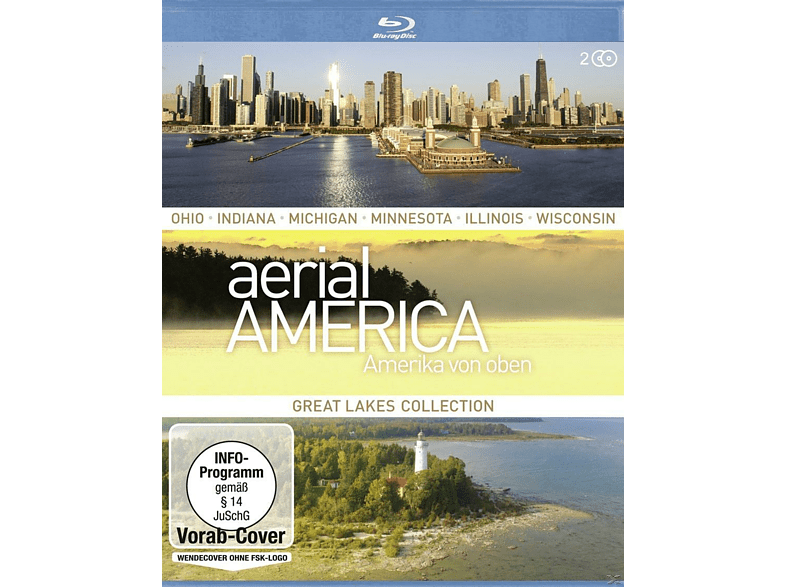 Aerial America - Amerika von oben: Great Lakes Collection [Blu-ray]