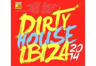 VARIOUS - Dirty House Ibiza 2014 - (CD)