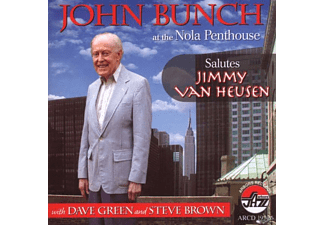 John Bunch - Salutes Jimmy Van Heusen - (CD)