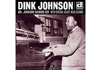 Dink Johnson - Mr.Johnson Signing Off - (CD)