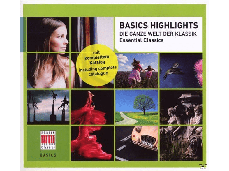 VARIOUS - Basics Highlights [CD]