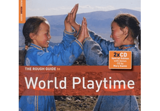 Diverse Weltmusik - Rough Guide: World Playtime  (+ - (CD + Bonus-CD)