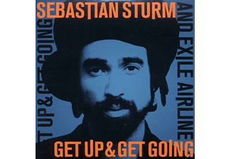 Sebastian Sturm - Get Up & Get Going - (CD)