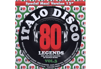 VARIOUS - I Love Italo Disco Legends Vol.3 - (CD)