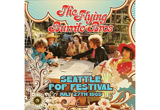The Flying Burrito Brothers - Seattle Pop Festival July 27th 1969 - (CD)