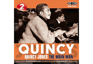 Quincy Jones - Quincy-The Main Man - (CD)