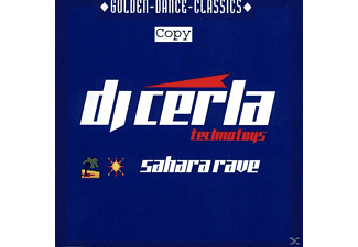Dj Cerla - Sahara Rave - (Maxi Single CD)