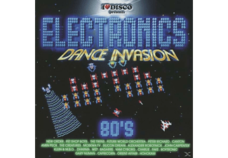 VARIOUS - Electronics Dance Invasion 80's Vol.1 - (CD)