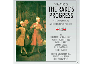 Coro E Orchestra Del Teatro Alla Scala Di Milano - The Rake's Progress (Ga) - (CD)
