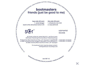 Bootmasters - Friends (Just Be Good To Me) - (Vinyl)