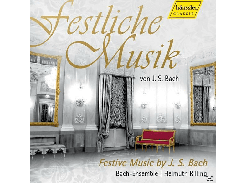 Helmuth/bach-ensemble Rilling - FESTLICHE MUSIC OF J.S. BACH [CD]