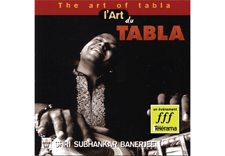 Shri Subhankar Banerjee - The Art Of Tabla - (CD)