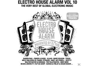 VARIOUS - Electro House Alarm Vol.10 - (CD)