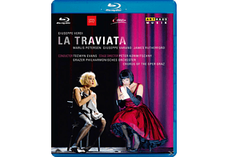 Evans/Petersen/Varano/Rutherford - La Traviata - (Blu-ray)
