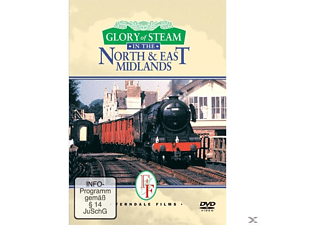 GLORY OF STEAM IN THE NORTH & EAST MIDLA - (DVD)