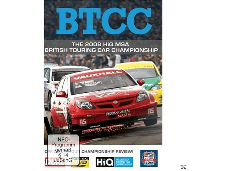 BTCC The 2008 HiQ MSA [DVD]