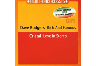 Dave Rodgers, Dave/cristal Rodgers - Rich And Famous-Love In Stereo - (Maxi Single CD)