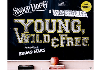 Bruno Snoop Dogg/wiz Khalifa/mars - Young, Wild & Free - (5 Zoll Single CD (2-Track))