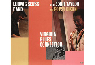 Ludwig Band with Seuss, Eddie Taylor, Popsy Dixon - Virginia Blues Connection - (CD)
