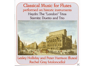HOLLIDAY, HARRISON, GRAY - Music For Flutes (Hist.Instr.) - (CD)