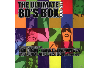 VARIOUS - Ultimate 80's Box - (CD)