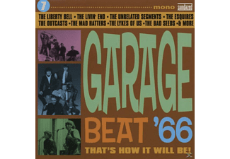 VARIOUS - Vol.7, Garage Beat '66-That's How It Will Be! - (CD)
