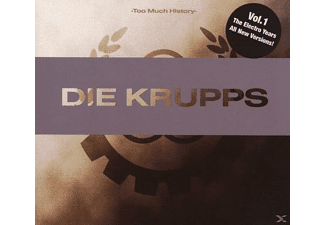 Die Krupps - Too Much History-Vol.1 The Electro Years - (CD)