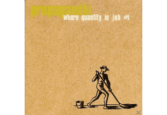 Propagandhi - Where Quantity Is Job No 1 [CD]