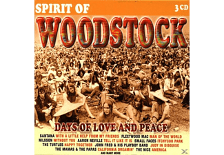 VARIOUS - Spirit Of Woodstock - (CD)