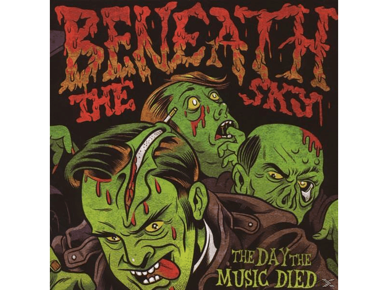 Beneath The Sky - The Day The Music Died [CD]