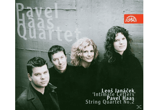 "Pavel Quartet Haas - ""Intimate Letters""/Str.Quar.2 - (CD)"